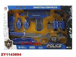 Набор полицейского 8013-5AHY в кор.