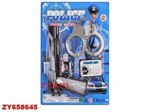Набор полицейского 137-12 на карт.