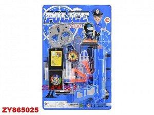Набор полицейского 520C-02S на карт.