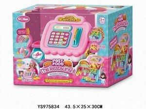Игровой набор 056QL Магазин в кассе с куклой в кор.