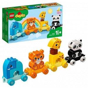 Констр-р LEGO 10955 DUPLO Поезд для животных