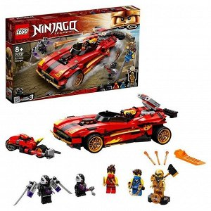 Констр-р LEGO 71737 Ninjago Ниндзя-перехватчик Х-1