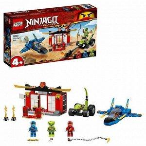Констр-р LEGO 71703 Ниндзяго Бой на штормовом истребителе
