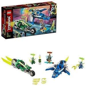 Констр-р LEGO 71709 Ниндзяго Скоростные машины Джея и Ллойда