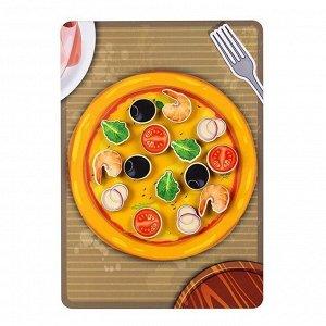 Дер. Липучка пицца морская 30203