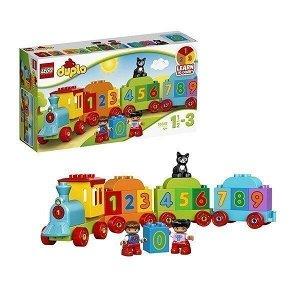 Констр-р LEGO 10847 Дупло Поезд Считай и играй