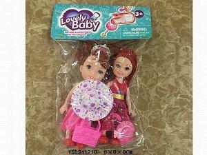 Кукла малышка 3267SM сестренки в пак.