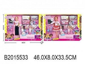 Кукла 100-1 в школе с аксесс и учениками в кор.