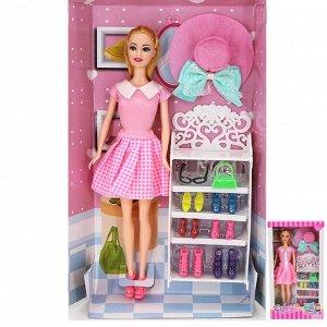 Кукла 8808В Rebecca с аксесс. в кор.