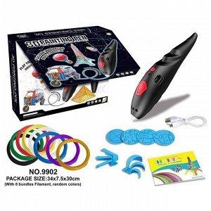 Набор ДТ Ручка 3D детская черная 1CSC20004597