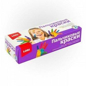 Набор ДТ Пальчиковые краски 3 цв. по 70 мл. Пкр-002 Lori
