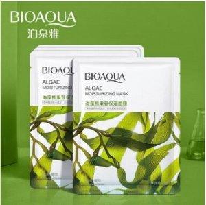 Тканевая маска с экстрактом морских водорослей BIOAQUA