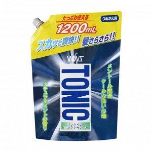 """""""WINS"""" """"Tonic"""" Тонизирующий шампунь с ополаскивателем  1200 мл. (мягкая эконом упаковка)"""