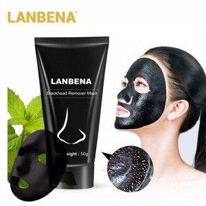 Lanbena Blackhead Remover - маска для очищения пор с бамбуковым углем. 50 гр.