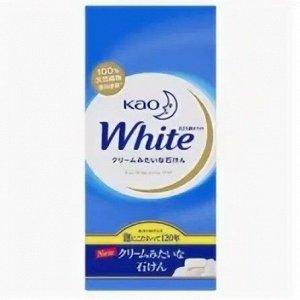 """Увлажняющее крем-мыло для тела KAO """"WHITE"""" с ароматом белых цветов, уапк., 6*85гр"""