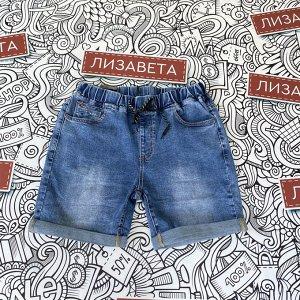 Шорты Новинка в ассортименте от 15.06. Шорты  с  отворотом по низу и поясом резинкой. Ткань плотная джинса со стрейч- очень комфортные для летнего отдыха. Модель немного большемерит- на пол размера пр