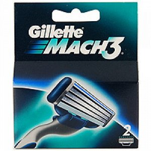 Gillette Mach3 Сменные кассеты по 4 шт ЖИЛЕТТ