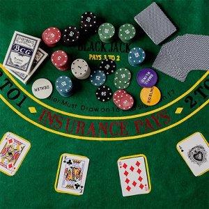 Набор для покера в жестяной коробке