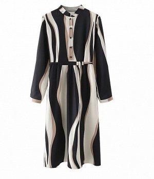 Платье S Талия 72 см, длина 104 см, рукав 58 см