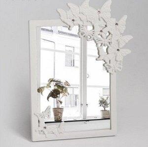Зеркало на подставке «Бабочки»