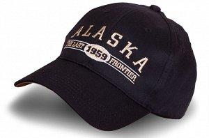 Чёрная бейсболка Alaska №20232 ОСТАТКИ СЛАДКИ!!!!