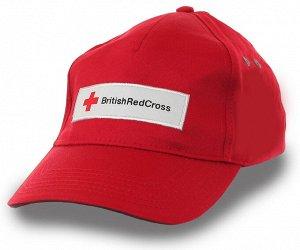 Бейсболка Британский Красный Крест  - ЧЕЛОВЕК, присоединяйся к международному благотворительному Движению №369