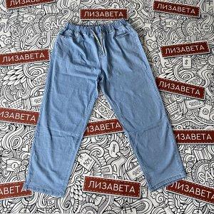 Джинсы Новинка в ассортименте от 15.06. Легкие летние джинсы с комфортной резинкой по талии. Очень комфортные для летнего отдыха. На фото 40 размер