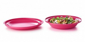 Тарелки Алоха 360 мл и 700 мл Tupperware® набор