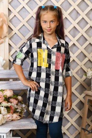 Детская Туника-рубашка 5548