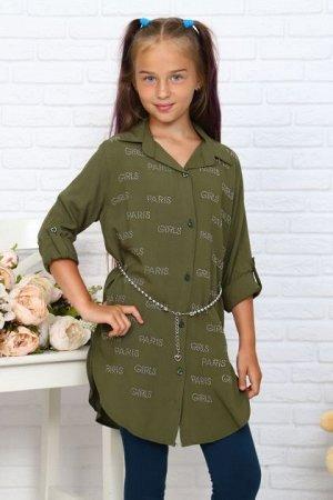 Детская Туника-рубашка 5542