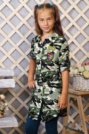 Детская Туника-рубашка 5541