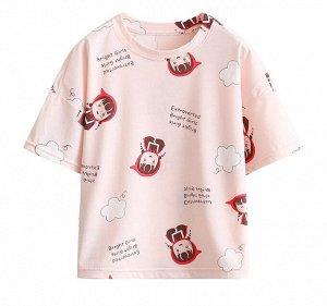 """Детская футболка, принт """"девочка в красной шапочке"""""""