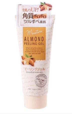 ALMOND-Пилинг гель  скраб с миндальной кислотой и гиалуроново
