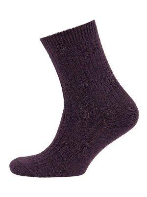 Носки черные из шерсти альпака, р. 27