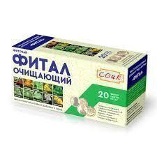 "Очищающий ""Фитал"" фиточай - БАД, ""СОИК"", 20 ф/п х 1,5 г"