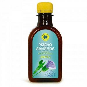 """Льняное масло пищевое с селеном, хромом, кремнием 0,2 л, марка """"Компас Здоровья"""""""