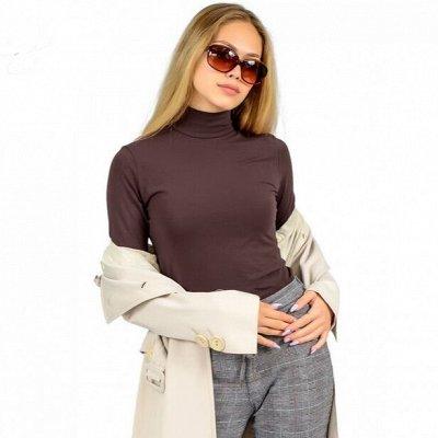 ✅Футболки, туники, блузки, топы, нижнее бельё — Водолазки женские