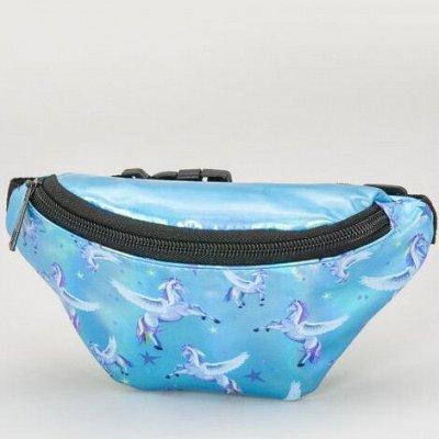 🍉МУЛЬТИ ДЕТСКАЯ! Одежда и аксессуары. Быстрая доставка в ПВ — Лазерные поясные сумочки для девочек. НОВИНКА