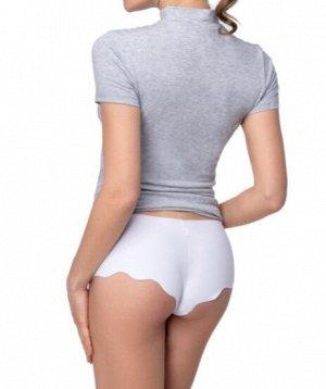 Трусы /Состав: 92% Cotton, 8% Elastane Tанго c фигурным низом. Материал: Cotton - материал из натуральных волокон, который удобен в носке, быстро впитывает и отводит от тела влагу, хорошо пропускает в