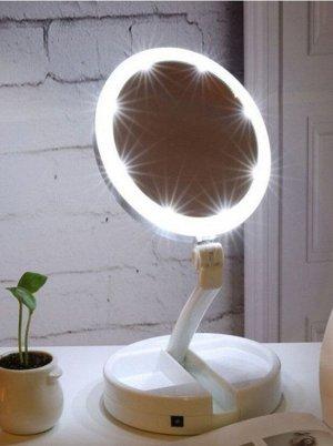Косметическое зеркало-лампа с подсветкой