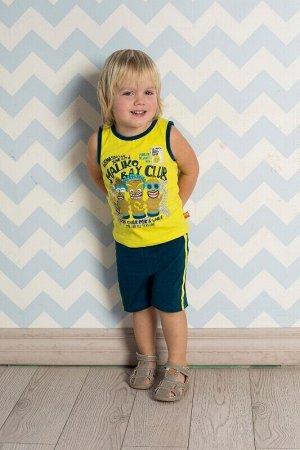 Комплект трикотажный для мальчиков: майка, шорты