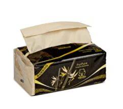 Салфетки в мягкой упаковке INSHIRO PurPure 100% Бамбук 3-х. сл. (150 шт.)
