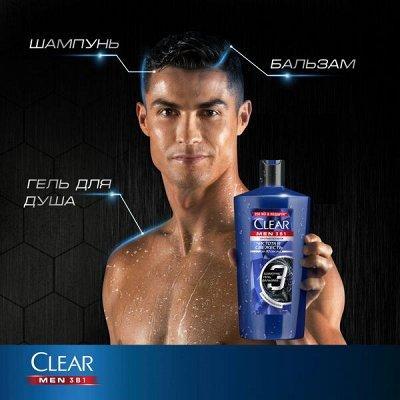 Сезон любимых дезодорантов Rexona по супер цене — Шампуни мужские Clear