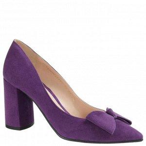 Туфли женские, ARGO Натуральная велюр