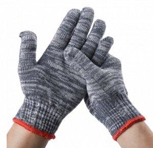 Перчатки хозяйственные х/б 5 нитей