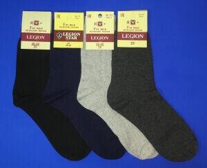 Легион носки мужские черные