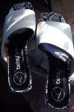 907019/01-02 белый иск.кожа женские туфли открытые (В-Л 2021)