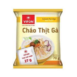 Каша рисовая с курицей, VIFON, 70 гр.