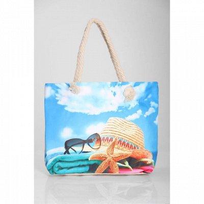 Трикотажница. Женская одежда. Новинки и жаркие скидки — Пляжные сумки с принтом