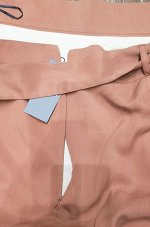 Однотонная юбка S932/water